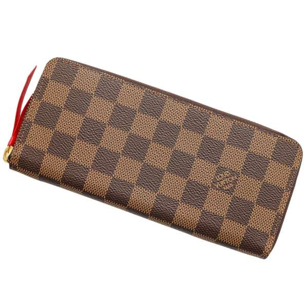 ルイヴィトン 長財布 ダミエ ポルトフォイユ・クレマンス N60534 LOUIS VUITTON ヴィトン 財布