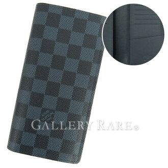 Louis Vuitton 长钱包双色格子钴钱包-兄弟 N63212 路易威登路易威登钱包男人