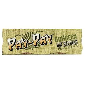 【喫煙具 Paperペーパー】手巻きタバコ用 Pay-Payゴーグリーンペーパー 50枚