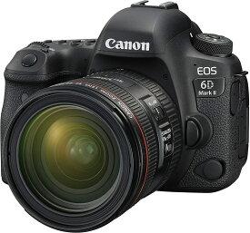 CANON デジタル一眼レフカメラ EOS 6D Mark II EF24-70 F4L IS USM レンズキット