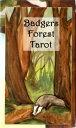 自然の魅力たっぷり!生命力あふれる野生の動物たちが生き生きと描かれています。バッジャー(アナグマ)フォレストタロット☆アナグマの森タロット