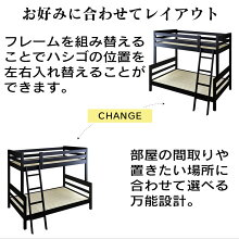 ベッド二段ベッド収納フロアベッドサイドガードベッド下収納シングルサイズベッドフレームレヴリドリス