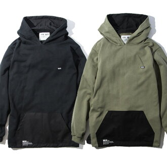 February arrival reservation product RULER (ruler) フーディー MILITIA RIP-STOP SWEAT HOODIE(O.D./BLACK) ● SWP RULER2019 spring and summer