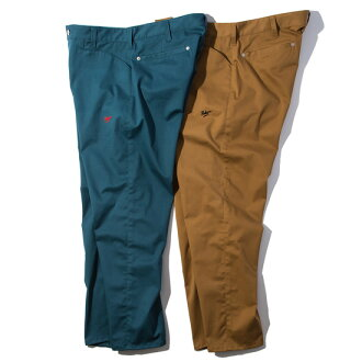 March arrival reservation product RULER (ruler) work trouser underwear CHINO WORK TROUSER(BROWN/BLUE GREEN) ● PNT RULER2019 spring and summer