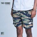 【即日発送】CRIMIE クライミー TOWN & SWIM TIGER CAMO SHORTS CR1-02A1-PS04 ショーツ パンツ 水陸両用 カジュアル アメカジ ストリ…