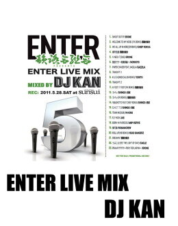/ (MIX CD)-ENTER LIVE MIX F