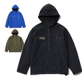 【10%OFF】 楽天スーパーSALE セールCLUCT クラクト NYLON PULLOVER JKT/プルオーバーパーカー/マウンパ/ライトパーカー(BLACK/BULUE/ARMY GREEN) ●JKT CLUCT2019SPRING/190316