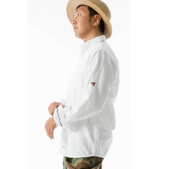 September arrival reservation product 430 (four thirty) shirt L/S CONCEAL BD OX SHIRTS(WHITE) ● SHT fourthirty2018 summer
