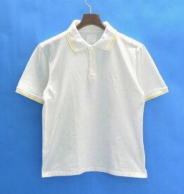 【中古】Levi's FENOM(リーバイス フェノム) S/S POLO SHIRT WHITE M 半袖ポロシャツ