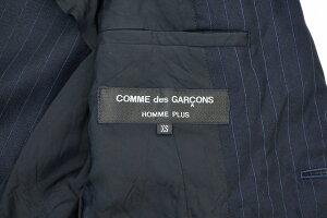 【美中古】COMMEdesGARCONSHOMMEPLUS(コムデギャルソンオム)AD2011製品洗い2BジャケットXSBLACK【中古】