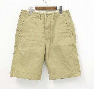 BEAMS (beams) cotton Chino shorts 29 BEIGE shorts