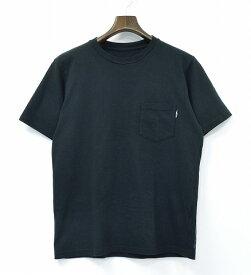 【中古】 the POOL aoyama (ザ プール 青山) POCKET TEE 半袖ポケットTシャツ S BLACK