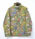 【新品】 Mr.GENTLEMAN (ミスタージェントルマン) VINTAGE FLOWER M-65 JACKET ヴィンテージフラワーM-65ミリタリージャケット M KHAKI 14SS 花柄