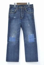 【中古】 Rag&Bone (ラグアンドボーン) RB 6X Vintage Denim Pant ヴィンテージデニムパンツ 30 INDIGO リペア ダメージ加工