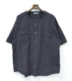 【中古】DISCOVERED (ディスカバード) REMAKE LIKE SHIRT TEE リメイクライクシャツTシャツ 2016 PRE-FALL COLLECTION ITEM BLACK 2 ブラック T-SHIRTS カットソー