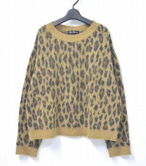 abwechslungsreiche neueste Designs beispiellos mäßiger Preis FREE beige-free Leo gone doh total pattern JACQUARD PULLOVER KNIT SWEATER  knit sweater LADY'S Lady's of HYSTERIC GLAMOUR WOMENS (hysteric grammar Ui  ...
