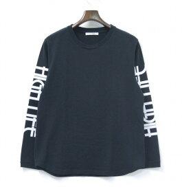 【中古】 DISCOVERED (ディスカバード) L/S TEE ロングスリーブTシャツ BLACK 16SS プリントロンT 長袖