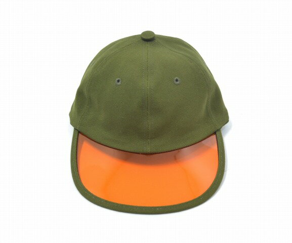 """【新品】 GOOFY CREATION (グーフィークリエーション) """"PHILIP"""" SUMMER LEISURE HAT サマーレジャーハット FREE OLIVE×ORANGE 17SS CAP キャップ 帽子"""