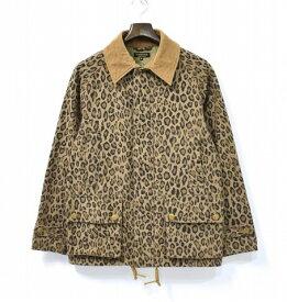 【中古】 A Vontade (ア ボンタージ) Field Coat フィールドコート Leopard S レオパード Jacket ジャケット 60/40 Cloth ロクヨンクロス Military ミリタリー Army アーミー Work ワーク