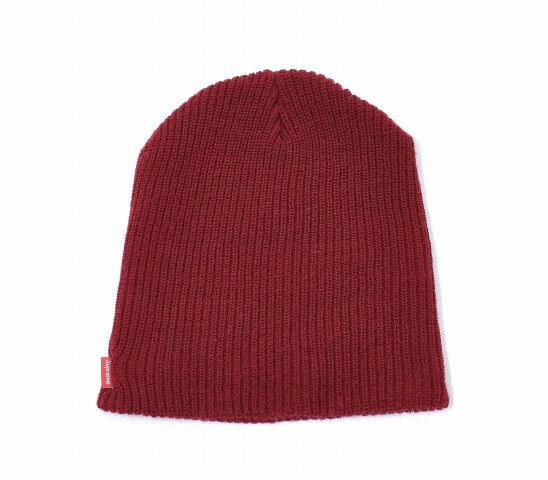 【中古】SUPREME (シュプリーム) Basic Beanie ベーシックビーニー FREE BURGUNDY バーガンディー Knit Cap ニットキャップ 帽子
