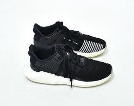 【中古】 adidas Originals (アディダス オリジナルス) EQT support 93/17 イーキューティーサポート93/17 US8 26cm BLACK/WHITE BZ0585 ランニングシューズ スニーカー 靴