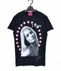 【新品同様】【訳あり】 Rockstars & Angels (ロックスターズ アンド エンジェルズ) プリントTシャツ XS BLACK 半袖 STAR スター 【中古】