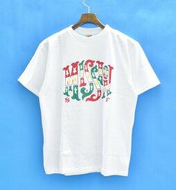 【新品】 STANDARD CALIFORNIA (スタンダードカリフォルニア) NEW BOHEMIA SIGNS FOR SD MISSION T プリント半袖Tシャツ S WHITE 17AW T-SHIRT TEE