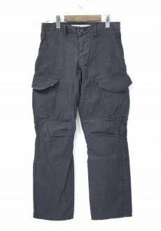 加藤 ' 基本 (基本卡托) 声称货物裤货物裤子黑色 S