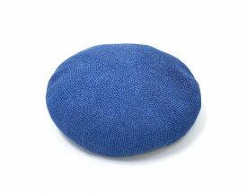 【中古】 RADIALL (ラディアル) AL-BERET アル ベレー L BLUE 18SS RAD-18SS-HAT001 ベレット ベレー帽 帽子