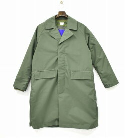 【中古】 DELUXE (デラックス) MACK デバイスコート S OLIVE 17AW 17AD5225 3WAY キルティング ライナー DELUXE CLOTHING デラックスクロージング