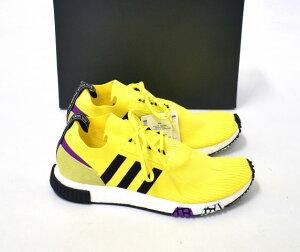 【新品】 adidas Originals (アディダスオリジナルス) NMD_RACER PK ネヌエムディー レーサー US11.5 29.5cm SOLAR YELLOW/CORE BLACK/SHOCK PURPLE 18AW B37641 スニーカー 靴