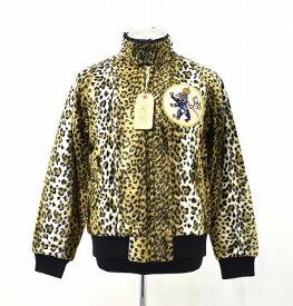 【新品】 Gauntlets (ガントレッツ) Leopard Fake Fur Swing Top Jacket レオパード フェイクファー スイングトップジャケット ブルゾン S