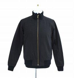 【中古】 SWAGGER (スワッガー) COTTON BLOUSON 中綿入りコットンブルゾン M BLACK JACKET ジャケット Thinsulate シンサレート