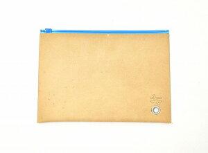 【新品】 kiruna (キルナ) Leather Multi Case レザーマルチケース M BLUE 181-K0001
