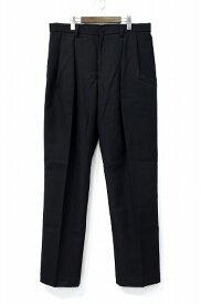【新品】 FACETASM(ファセッタズム) WOOL MESH TWO TUCK PANTS ウールメッシュ2タックパンツ テーラードパンツ スラックス トラウザーズ BLACK 5 ツー プリーツ