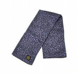 【中古】 DELUXE CLOTHING (デラックスクロージング) レオパードスカーフ FREE PURPLE LEOPARD SCARF ヒョウ柄