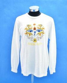 【中古】 SUPREME (シュプリーム) Supreme Truth L/S Tee シュプリームトゥルースロングスリーブTシャツ M WHITE ロンT カットソー 長袖 刺繍 T-SHIRT