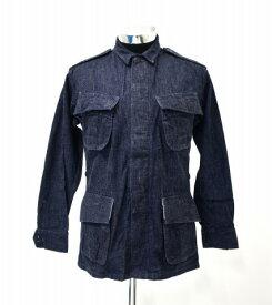 【中古】 BONCOURA (ボンクラ) Denim Fatigue Jacket デニムファティーグジャケット 36 INDIGO 13SS MILITARY ミリタリー ARMY アーミー M-65