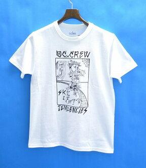 集船员 (澳元乘员组) 倾向三通倾向 t 恤印 t 恤短袖 t 恤白色 S