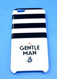 【新品】 Mr.GENTLEMAN (ミスタージェントルマン) iPhone CASE (アイフォーンケース) アイフォン 携帯ケース スマホケース スマートフォン BLACK FREE MISTERGENTKEMAN MADE IN JAPAN iPHONE6/iPHONE6S 対応
