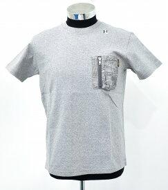 【新品】 HABANOS (ハバノス)MILITARY CAMO-POCKET S/SL Tee 杢 Gray ミリタリーカモ ポケットTシャツ 半袖T-SHIRT ポケTEE S/S T-SHIRT MADE IN JAPAN S HBNS