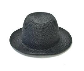 【新品】 KIJIMA TAKAYUKI (キジマタカユキ) ペーパーブレードハット BLACK 帽子 HAT 2 MADE IN JAPAN 17126-01 中折れ
