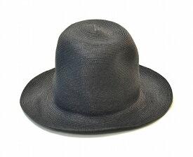 【新品】 KIJIMA TAKAYUKI (キジマタカユキ) ペーパーブレードハット BLACK 帽子 HAT 3 MADE IN JAPAN 17126-01 中折れ