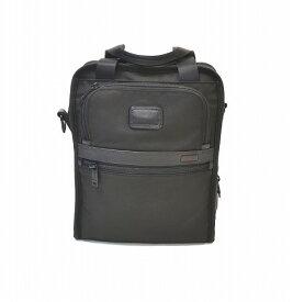 【新品同様】 TUMI (トゥミ) Medium Travel Tote 2way Bag ミディアム トラベルトートバッグ ショルダーバッグ マルチ ビジネス トラベル 022117D2 BLACK ALPHA2