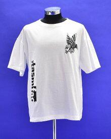 【新品】 FACETASM (ファセッタズム)S/S EAGLE TEE 半袖イーグルTシャツ クルーネックプリントT-SHIRT LOGO ロゴ 刺繍 WHITE 5 MADE IN JAPAN FACE GRAPHIC BIG TEE
