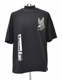【新品】 FACETASM (ファセッタズム)S/S EAGLE TEE 半袖イーグルTシャツ クルーネックプリントT-SHIRT LOGO ロゴ 刺繍 BLACK 5 MADE IN JAPAN FACE GRAPHIC BIG TEE