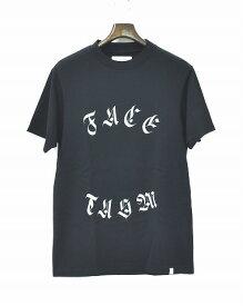 【新品】 FACETASM (ファセッタズム) FACETASM BASIC TEE RB-TEE-U15 ファセッタズムベーシックTシャツ T-SHIRT 半袖プリントTシャツ LOGO BLACK 4