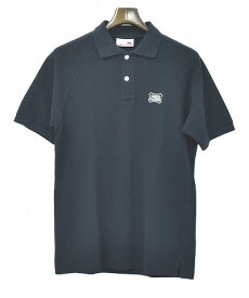 【新品】 STANDARD CALIFORNIA (スタンダードカリフォルニア) SD SHIELD LOGO POLO SHIRT エスディー シールドロゴポロシャツ BLACK SMALL S スタカリ MADE IN JAPAN