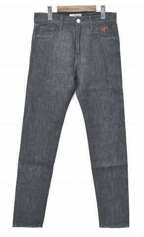 【新品】Finders Keepers (ファインダーズキーパーズ) FK-BIEBER/SKINNY FIT DENIM PANTS GREY 40731404 ビーバー スキニーフィットパンツ ストレッチ 5ポケットパンツ JEANS ジーンズ SMALL S  MADE IN JAPAN