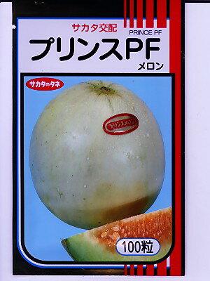 メロンの種 サカタ交配 プリンスPF サカタのタネのメロン品種です。種のことならお任せグリーンデポ